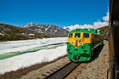 Photo of Skagway-Whitehorse Train/Bus Connection via Fraser