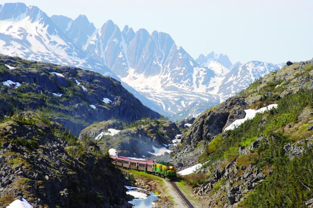 White Pass Tour Skagway Alaska