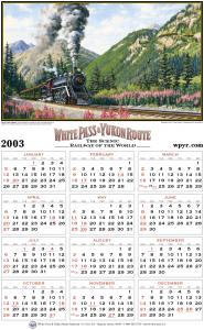 2003 White Pass Calendar