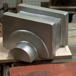 A pattern for the new main rod brasses.