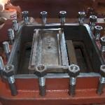 Valve in valve chest.