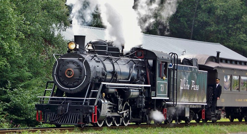 Fraser Meadows Steam Excursion