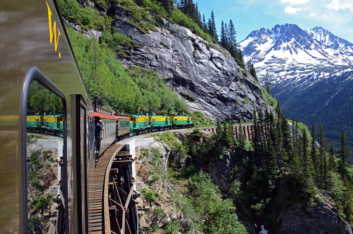 Train Tour Skagway Alaska