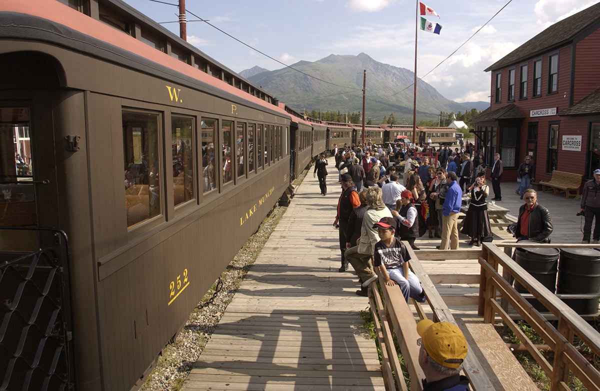 Photo of Skagway-Whitehorse Train/Bus Connection via Carcross
