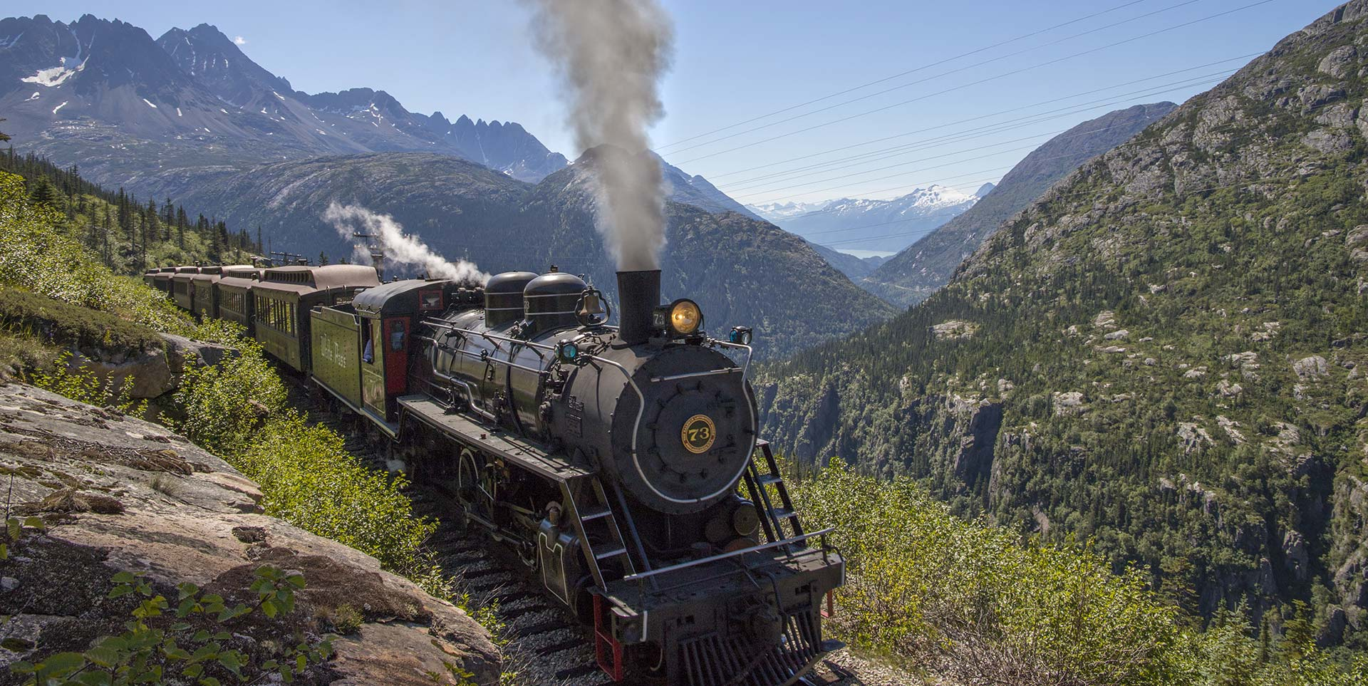 Alaska Steam Train Excursions