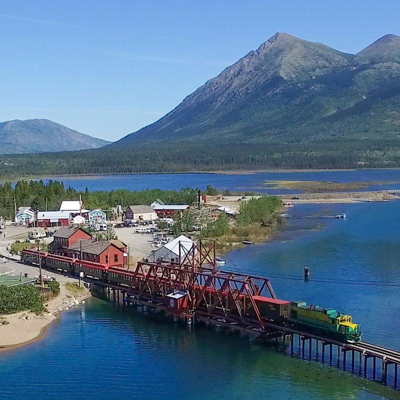 Carcross, Yukon Train Excursions
