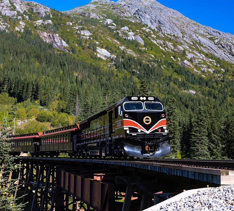 2021 The Journey on White Pass Railroad
