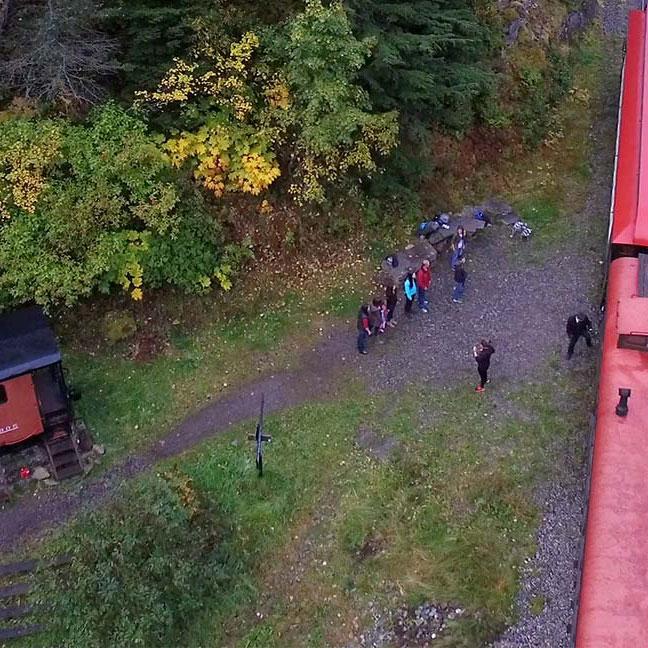 Denver Hiker Drop Off Train Service