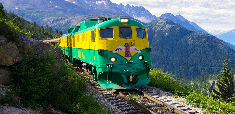 Alaska Train Excursion: Summit - Skagway, Alaska