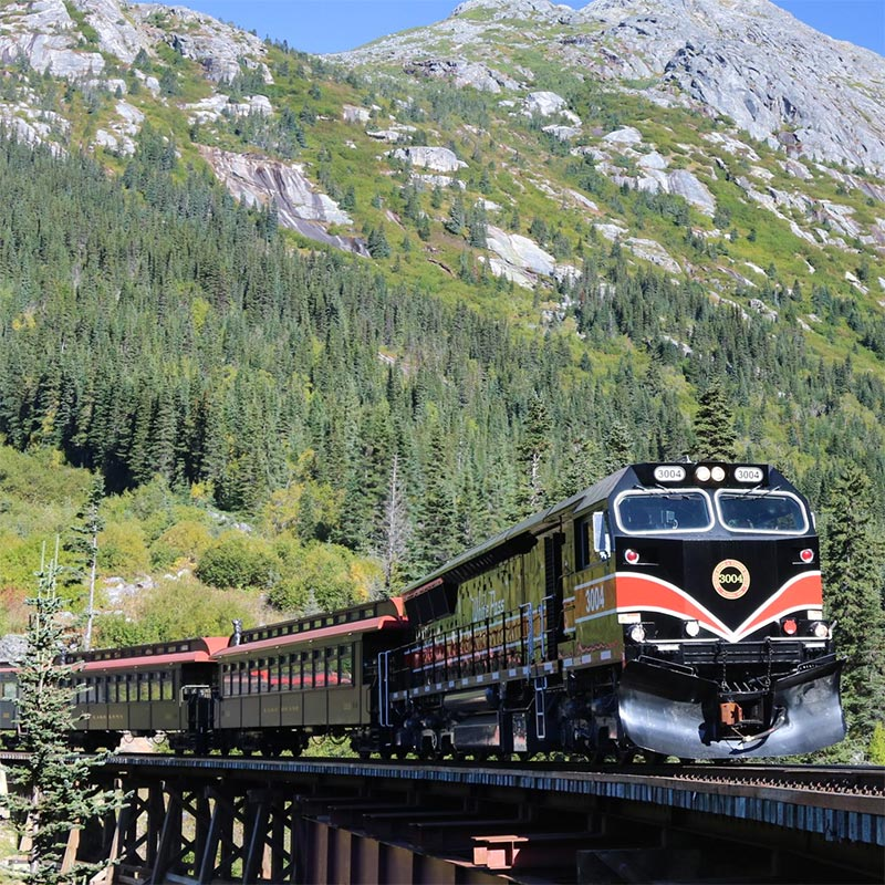 Journey on the White Pass Railroad