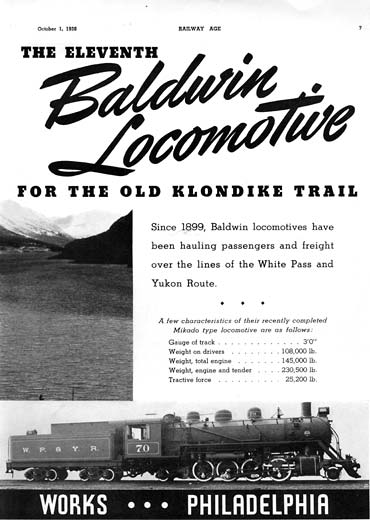 Historical Baldwin Locomotive Ad