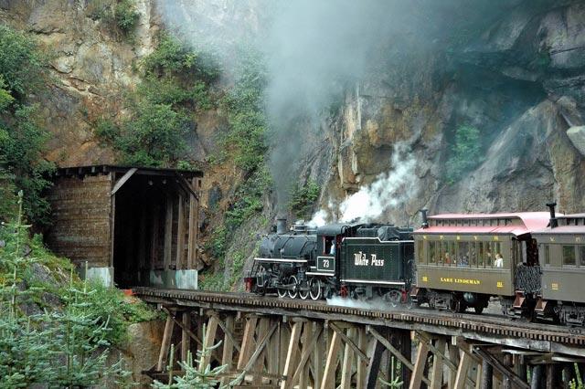 White Pass Tunnel by Wm. Kleimenhagen
