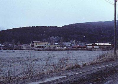 View to Skagway Depot. Location:Skagway. Milepost:. Date:27845