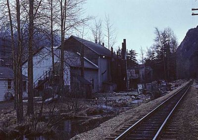 Skagway Light Company, view from track side. Location:Skagway. Milepost:. Date:27845