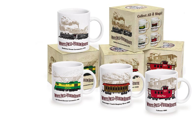 WP&YR Collector Series Mugs