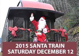 Santa Train 2015