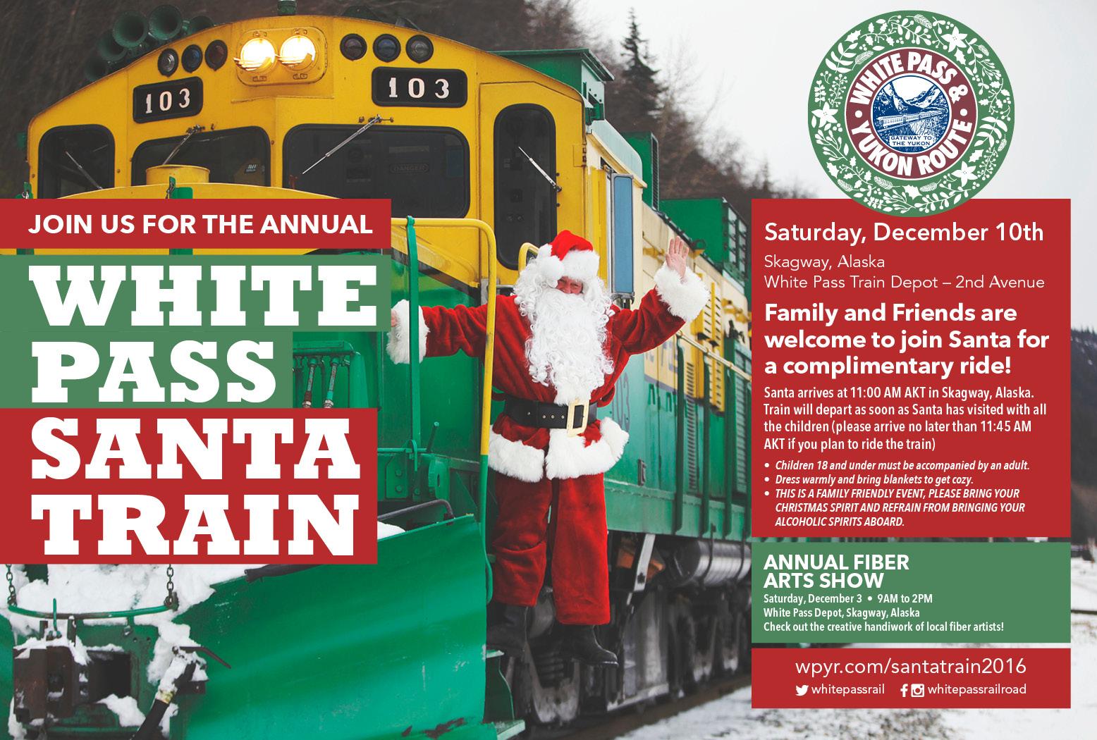 2016 WP&YR Santa Train