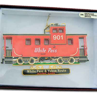 Ornament Caboose 901