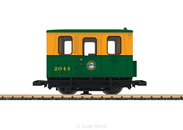 G-Scale LGB Gang Car