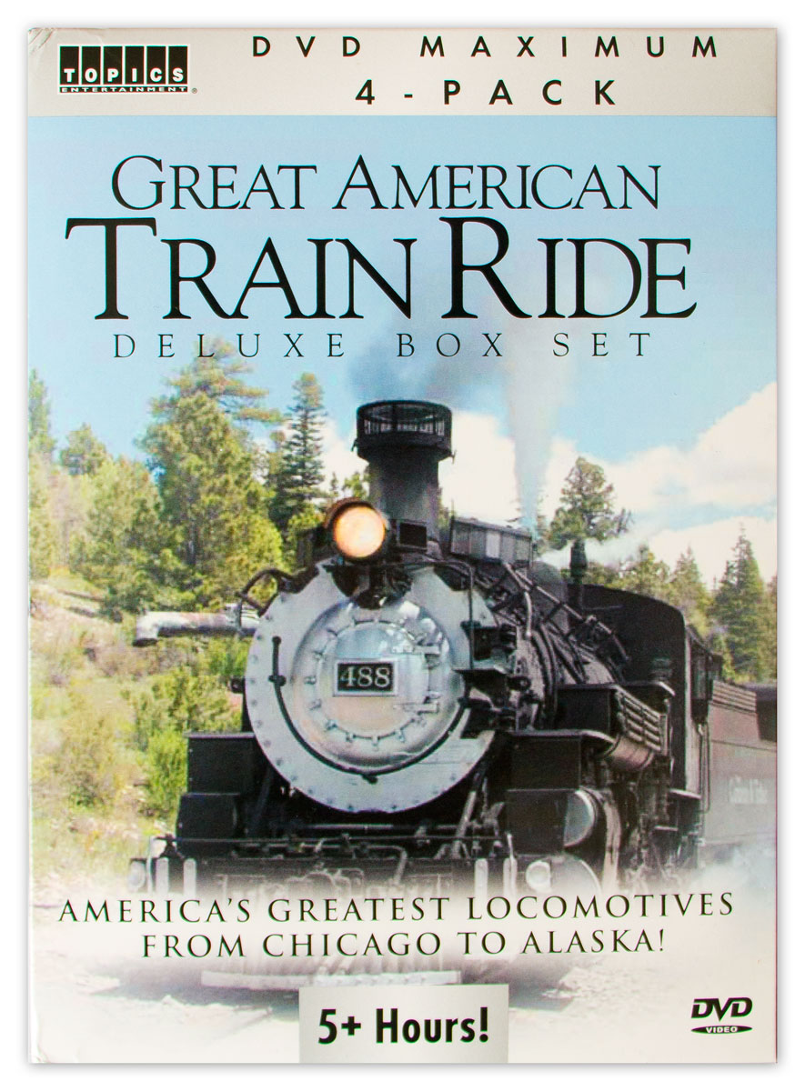 Dvd Great American Train Ride