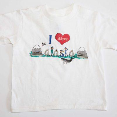 I Heart Skagway Alaska Toddler T