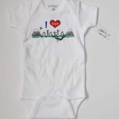 I Heart Skagway Alaska Onesie