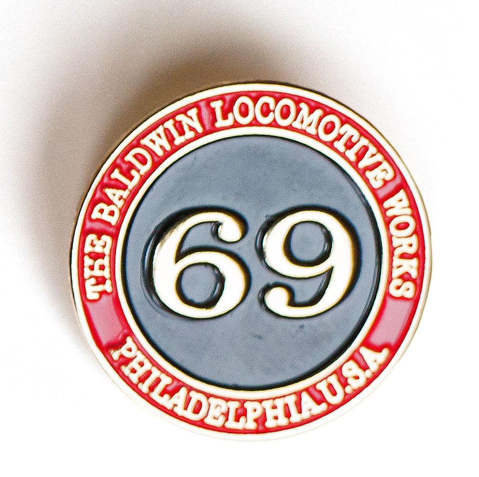 Pin #69 Boiler Plate