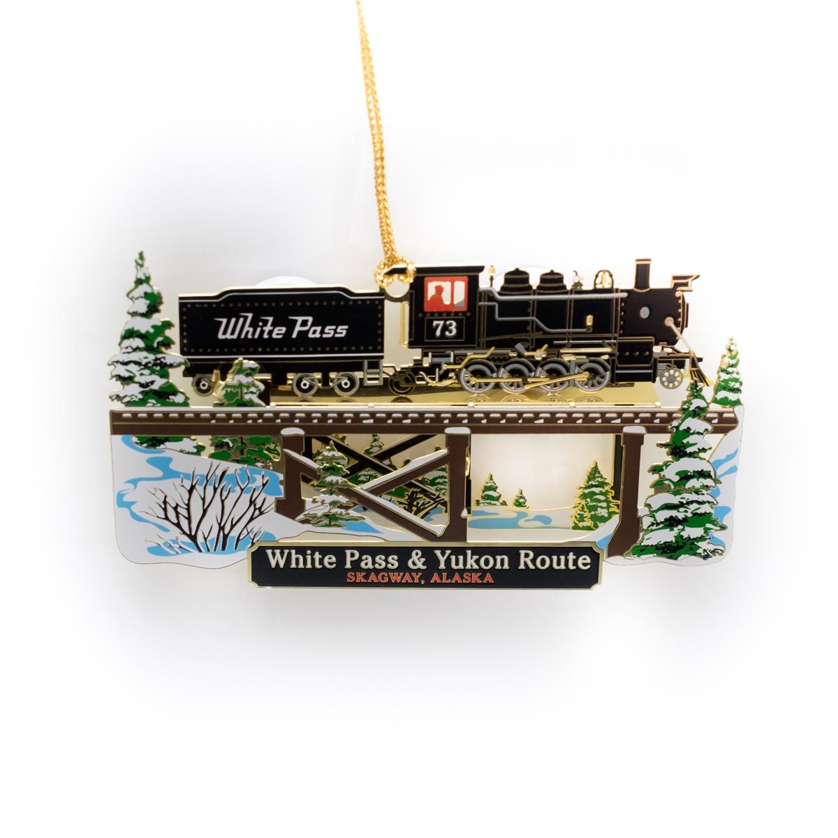 Steam Winter Ornament