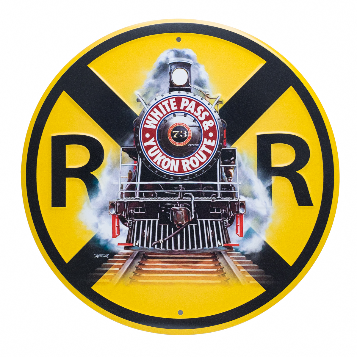 Sign RR Crossing