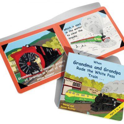 When Grandma and Grandpa Rode the White Pass Train…
