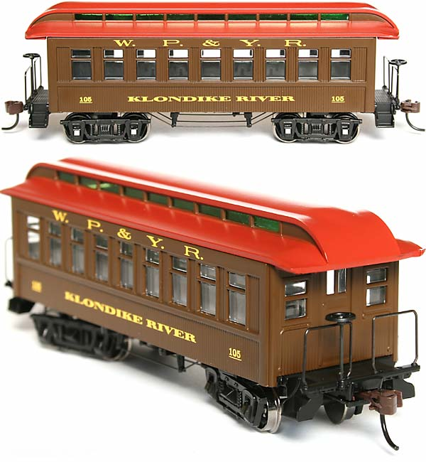 N Scale Klondike River Coach