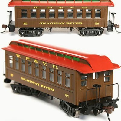 N Scale Skagway River Coach