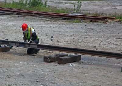 Welding on the Railroad
