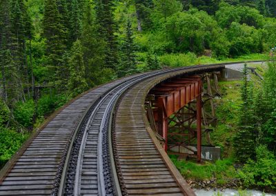 The Bridge over the White Pass Fork