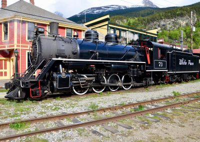 steam engine # 73