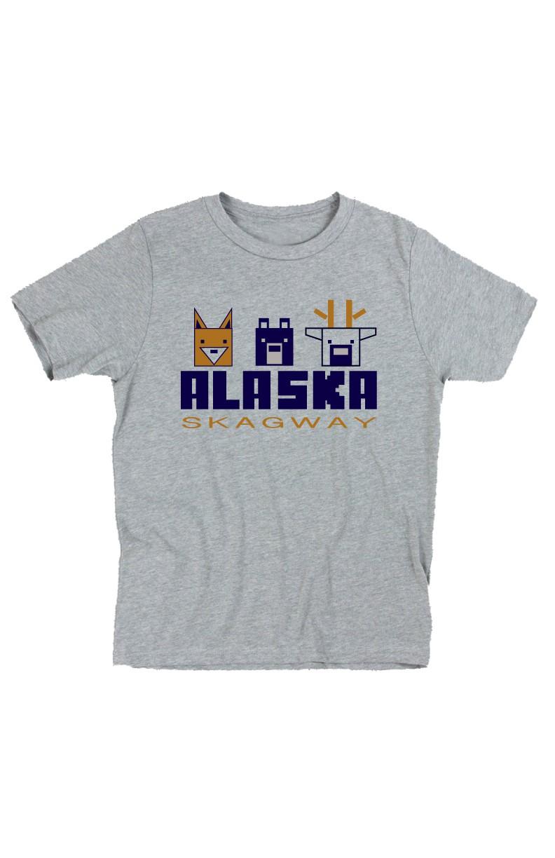 Animal Rail Short Sleeve T-Shirt in White